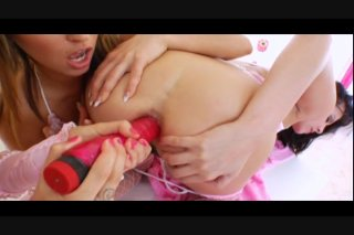Streaming porn video still #5 from Lil' Gaping Lesbians 3
