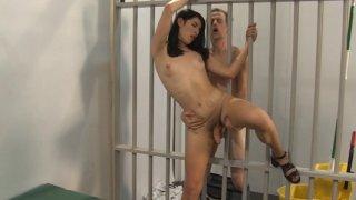 Streaming porn video still #3 from Trans Prison