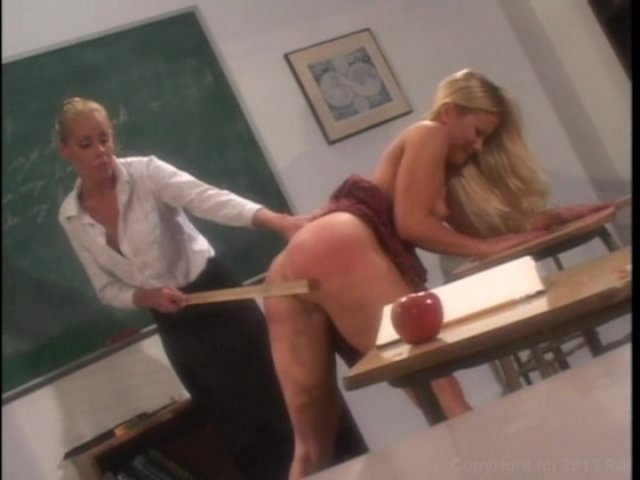 Streaming porn video still #3 from Cheerleaders Spanked