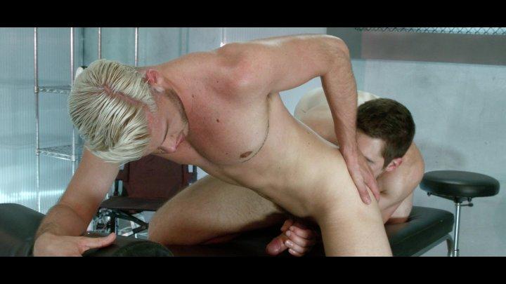 Streaming porn video still #1 from Ex_Machina: A Gay XXX Parody