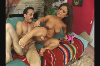 Streaming porn scene video image #8 from Horny midget slut riding big cock
