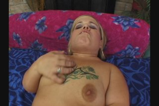 Streaming porn scene video image #1 from Chubby midget rides full size dick