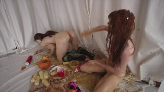 Streaming porn video still #9 from Fetish Fanatic 21: The Extreme Sploshing Edition