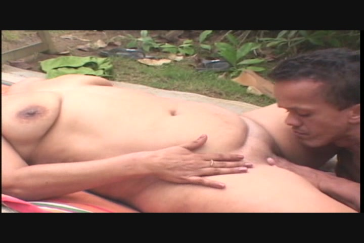 Nude fuck in jungle