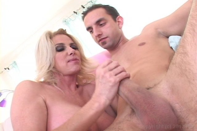 Big boobs strap on fetish