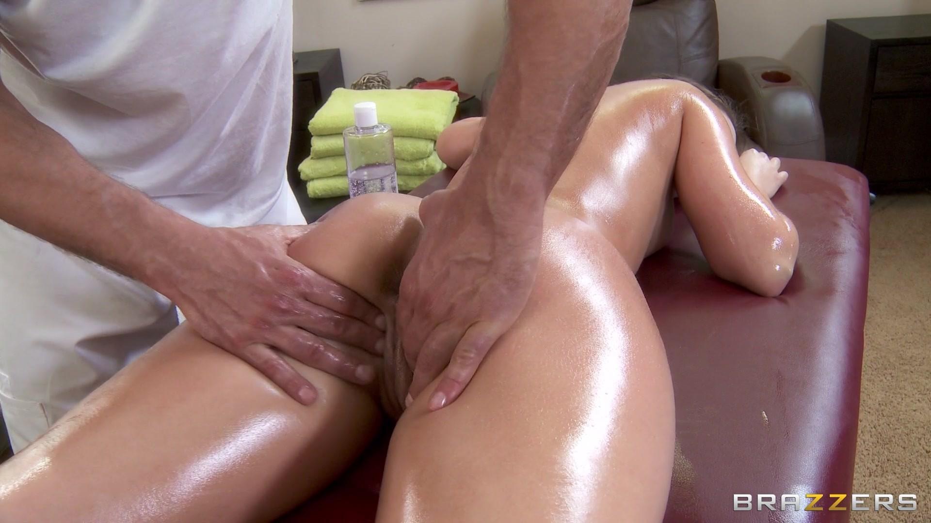 кончают во время массажа - 9