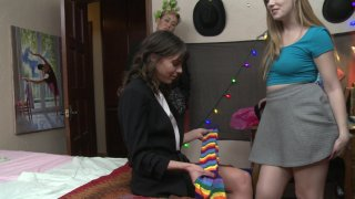 Streaming porn video still #1 from Lesbian House Hunters Part 18