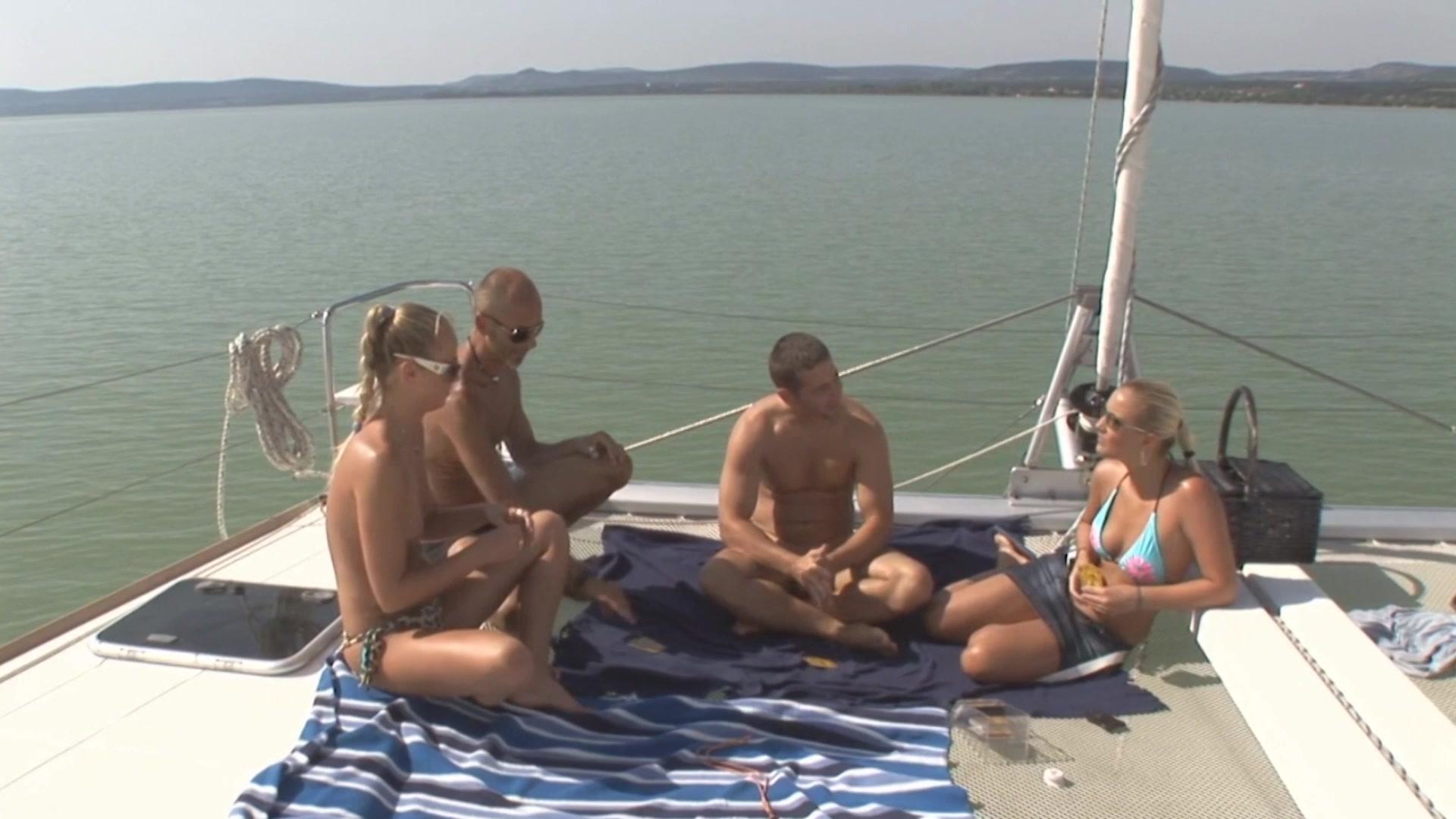 Nude Swinger Boat Sex