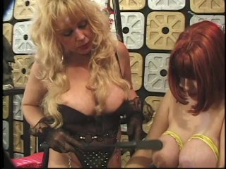 Streaming porn scene video image #3 from Female Master Enslaves Her Busty Submissive