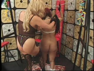 Streaming porn scene video image #8 from Female Master Enslaves Her Busty Submissive