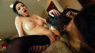 Streaming porn video still #8 from Lesbian XXX Games 2