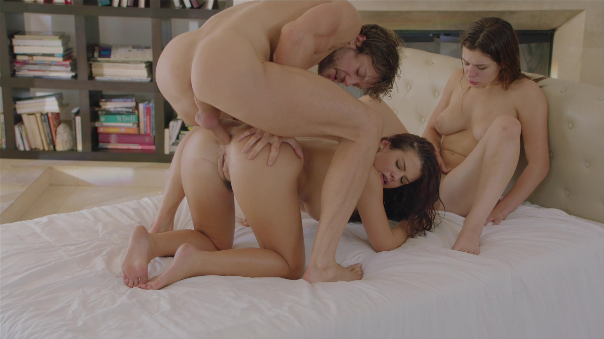 anal threesome porn
