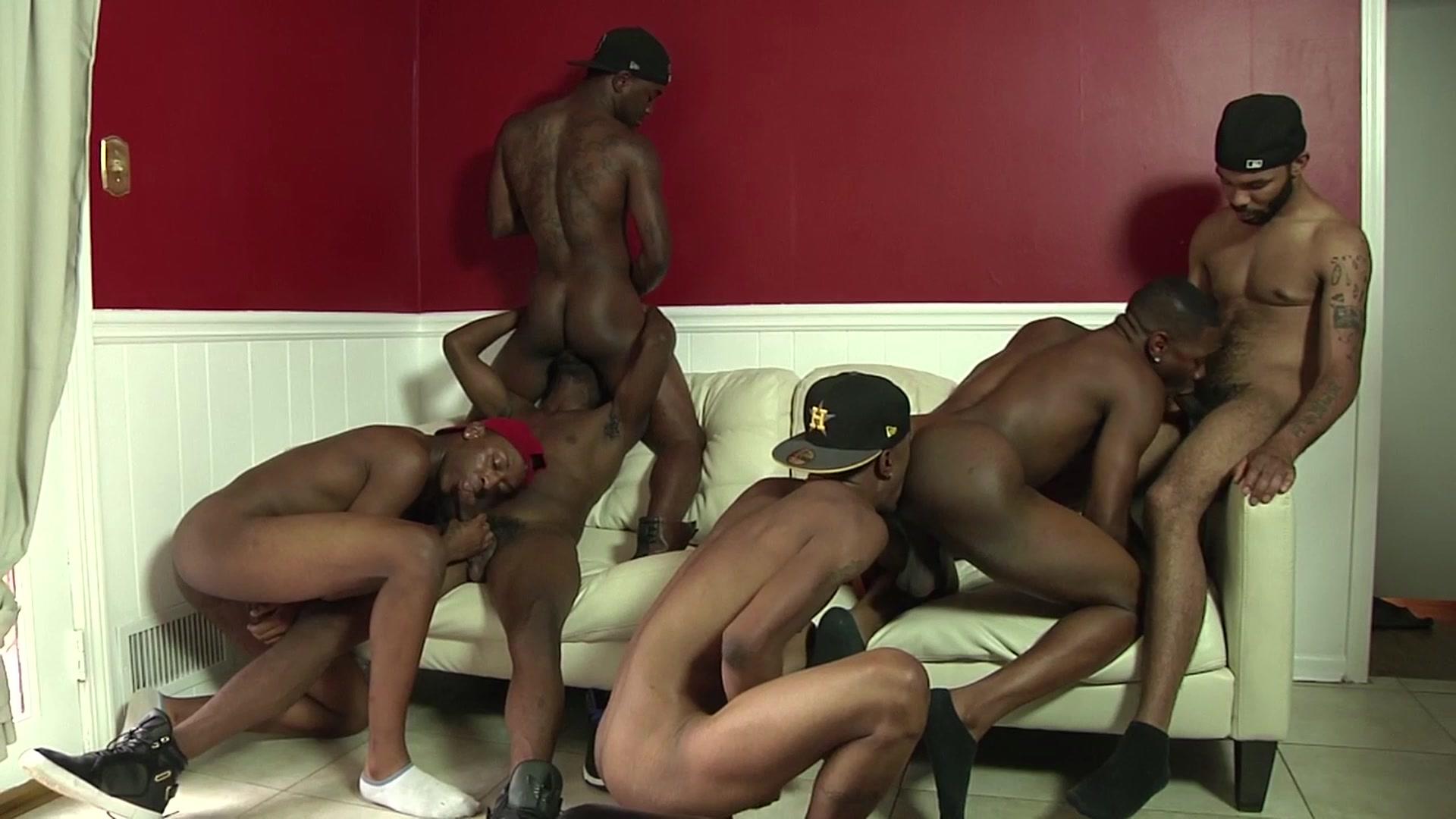 Free thug orgy porn