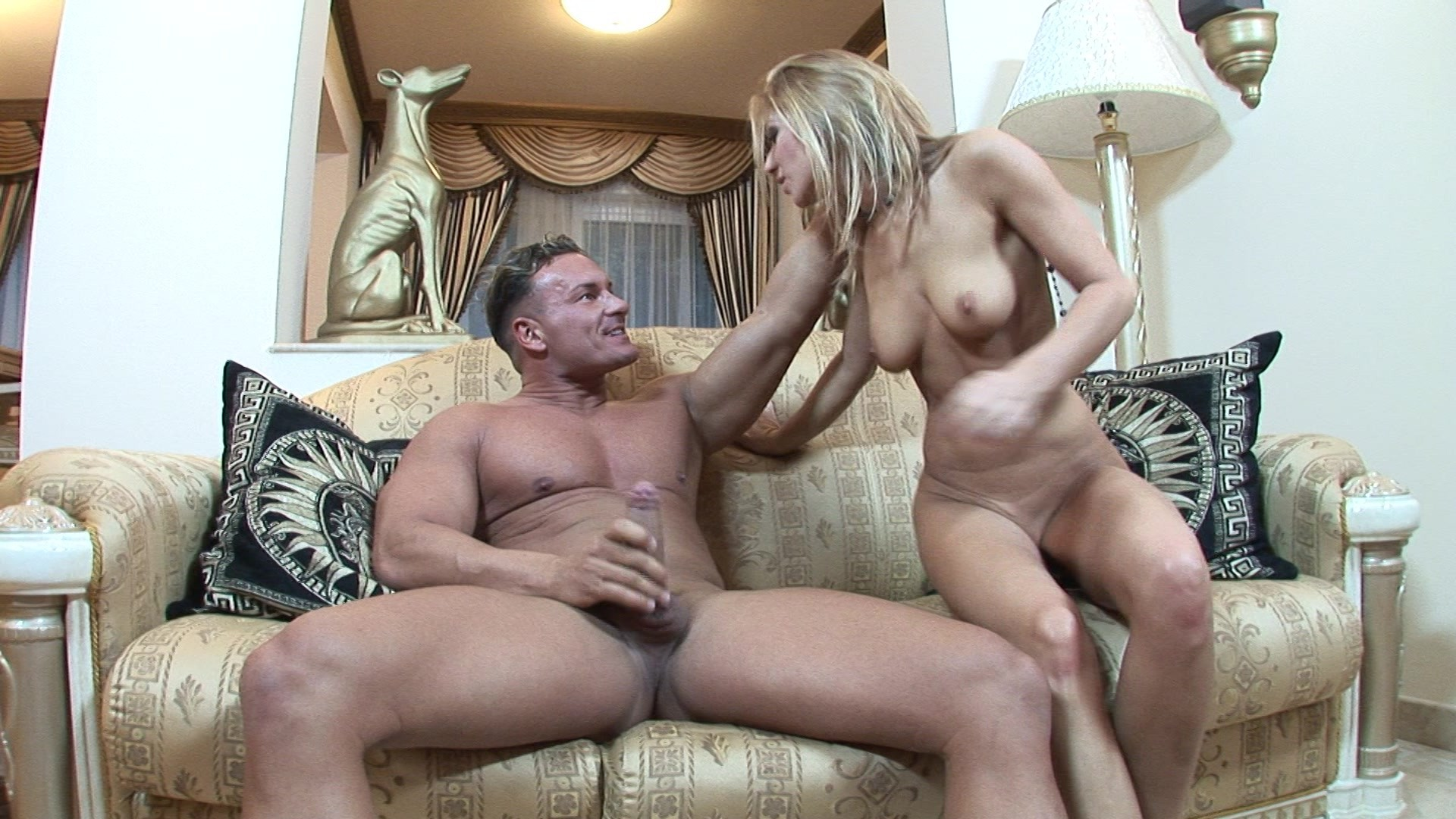 Cleaning obessed milf screwing her sons friend