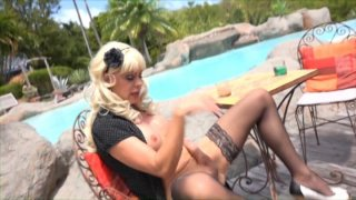 Streaming porn video still #4 from She-Male Strokers 77
