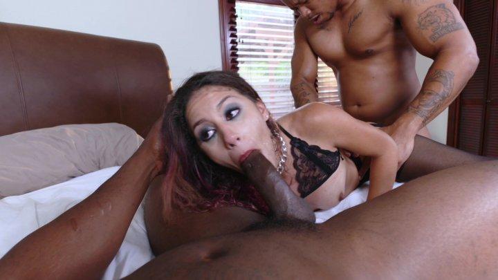 Streaming porn video still #4 from Interracial Surrender Threesomes
