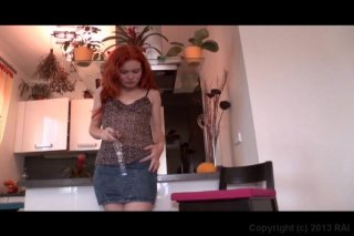 Streaming porn video still #1 from Burning Bush Red Hairy Pussy