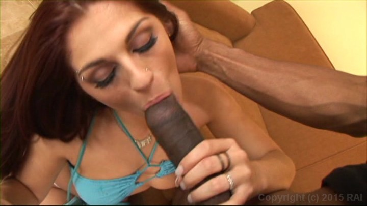 Asian bitch fucked by big black dick