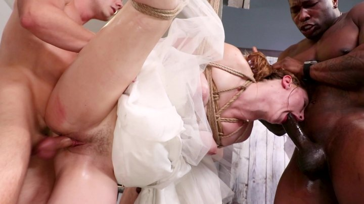 Streaming porn video still #1 from Here Cums The Bride: An Unhole-y Matrimoany