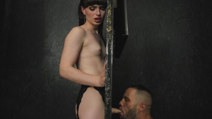 Streaming porn video still #1 from Transsexual Glory Holes