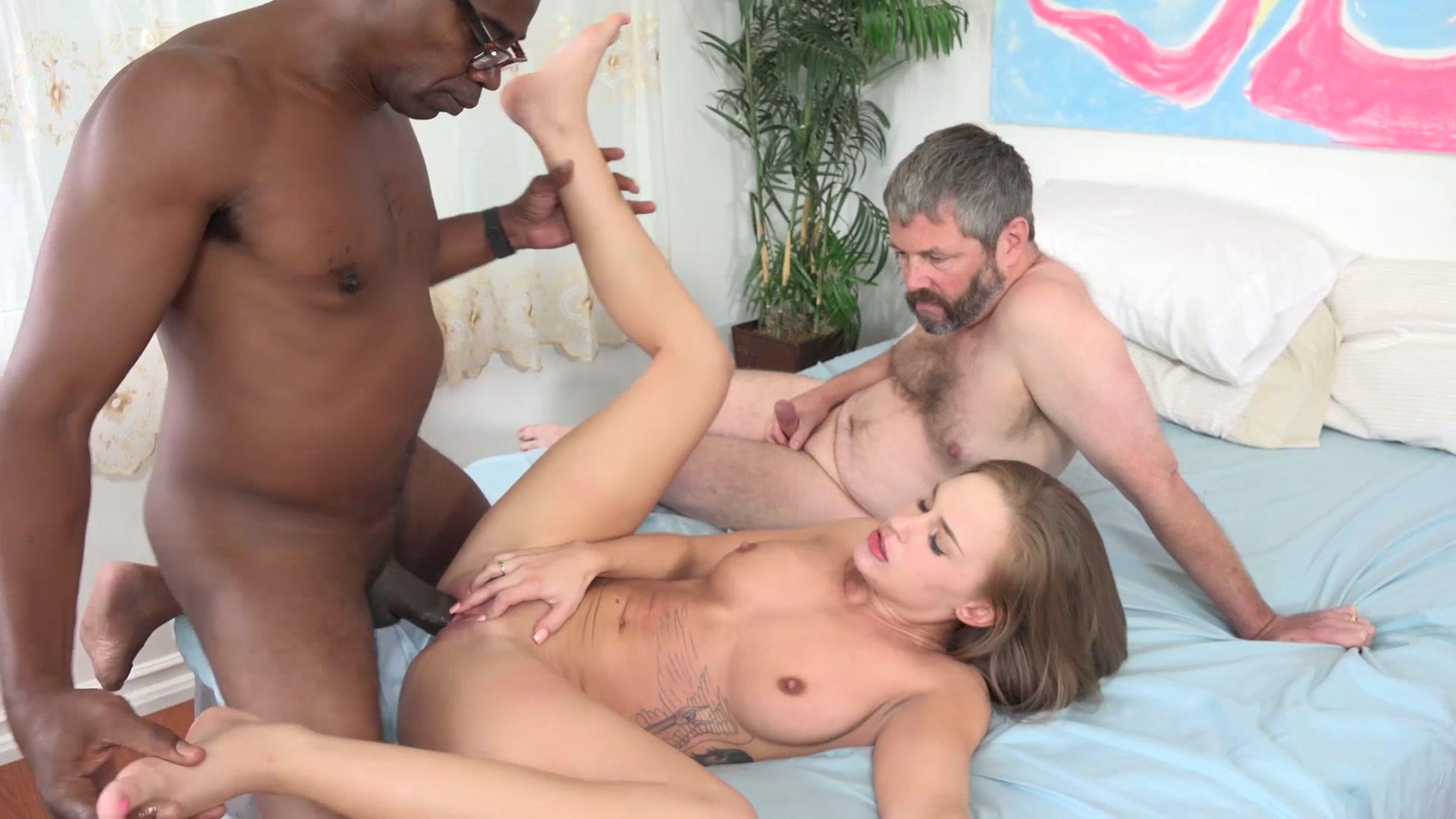 Hayden Night Interracial Threesome Fuck