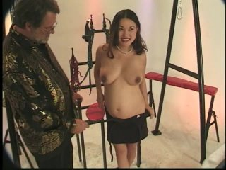 Streaming porn scene video image #1 from Pregnant Asian Gets Dominated