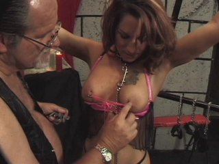 Streaming porn scene video image #3 from Delightful daughter punished by dad with clothespins
