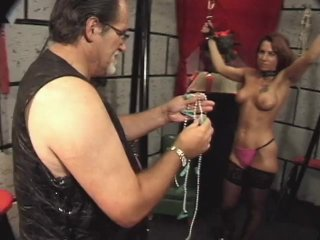 Streaming porn scene video image #4 from Delightful daughter punished by dad with clothespins