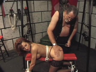 Streaming porn scene video image #7 from Delightful daughter punished by dad with clothespins