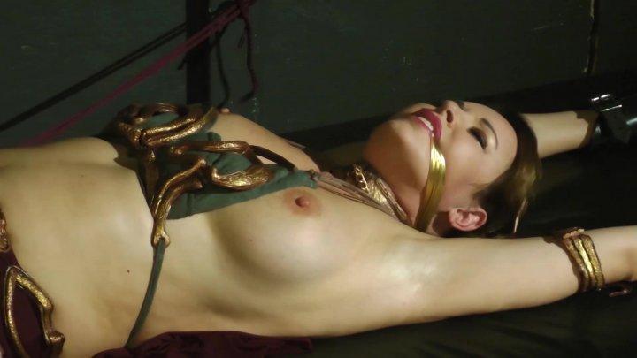 leia fetish Slave