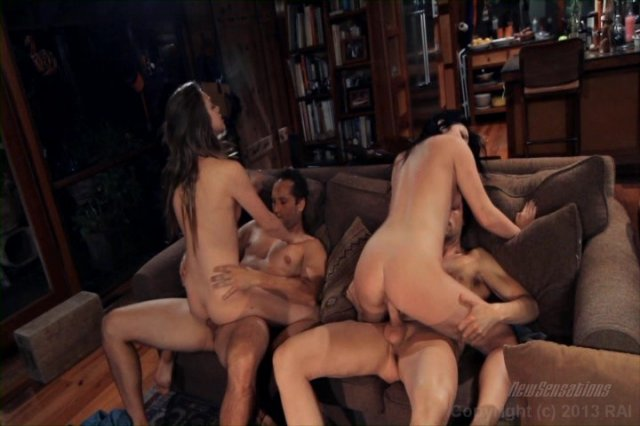Streaming porn video still #4 from Shared Wives