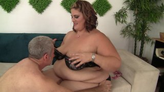 Streaming porn scene video image #1 from BBW Gets The Ride Of Her Life
