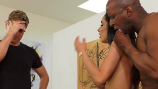 Streaming porn video still #3 from Latina Interracial Cuckold 2