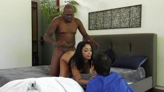 Streaming porn video still #4 from Latina Interracial Cuckold 2
