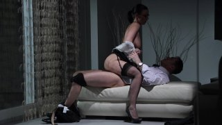 Streaming porn video still #5 from Rich, Pretty and Promiscuous