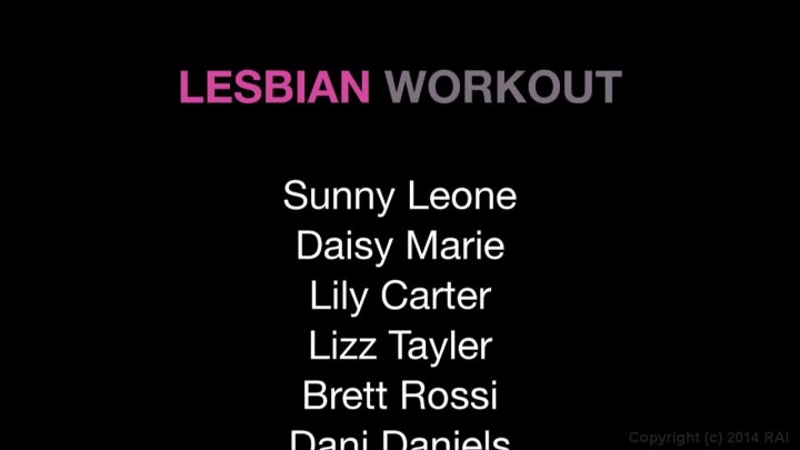 Streaming porn video still #1 from Lesbian Workout