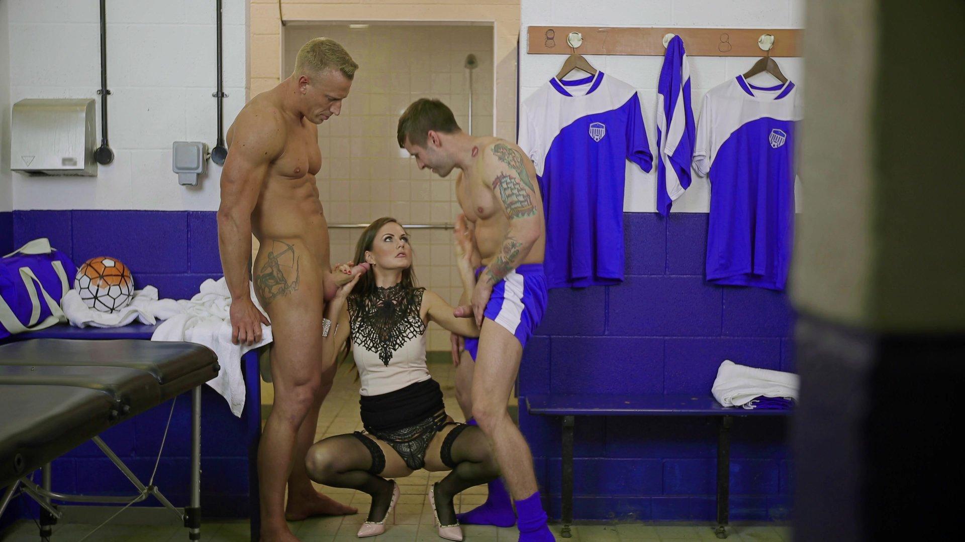 aftermatch locker room gay porn
