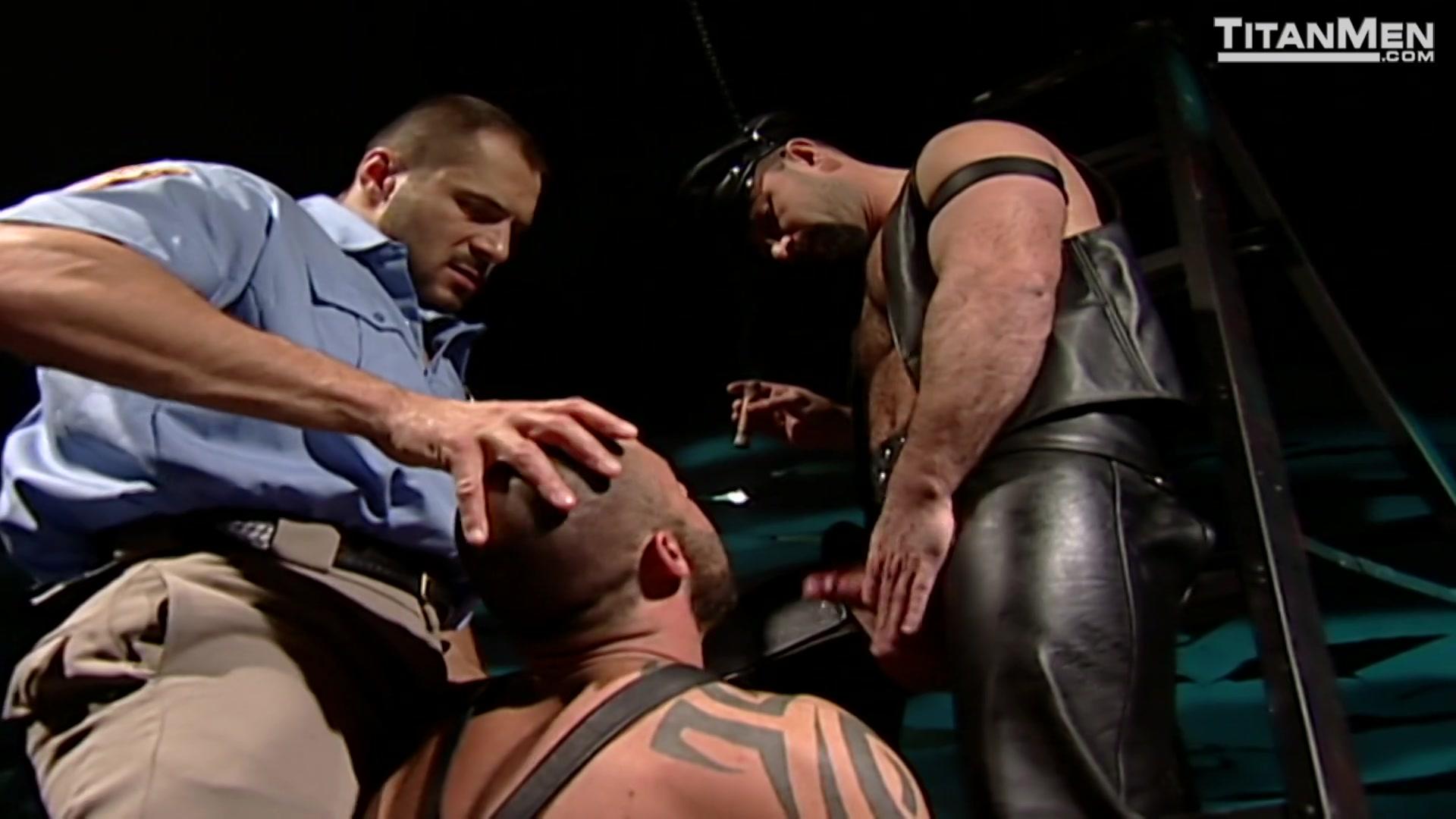 Folsom Leather Directors Cut  Titanmen Gay Porn Movies -8805