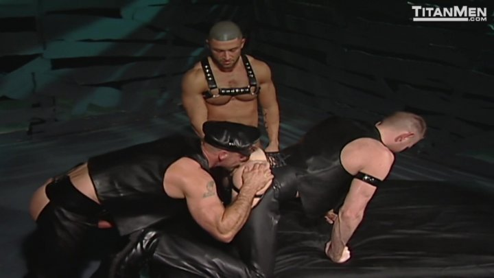 Streaming porn video still #1 from Folsom Leather (Director's Cut)