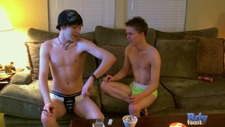 Damien And Williams First Time On Cam