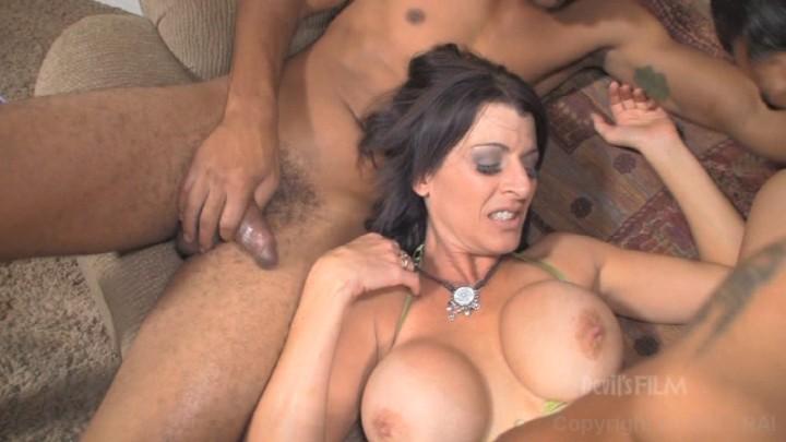 Hot stripper having sex