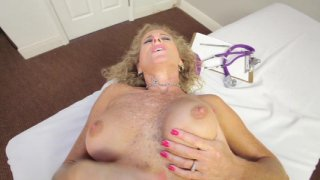 Streaming porn video still #5 from Interracial POV: Cougar Style