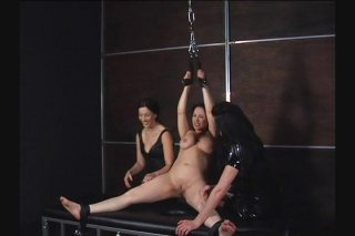 Streaming porn video still #7 from Very Best Of Tied N Tickled 2, The