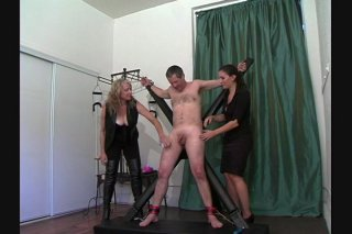 Streaming porn video still #8 from Very Best Of Tied N Tickled 2, The