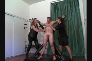 Streaming porn video still #9 from Very Best Of Tied N Tickled 2, The
