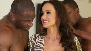 Streaming porn video still #2 from Lisa Ann's Black Out #3