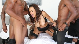 Streaming porn video still #1 from Lisa Ann's Black Out #3