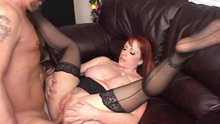Streaming porn video still #4 from Redheads