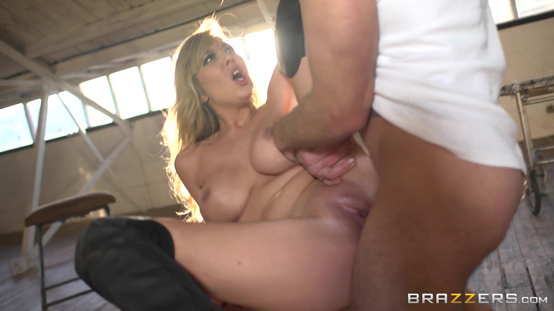 Porn using sex toys