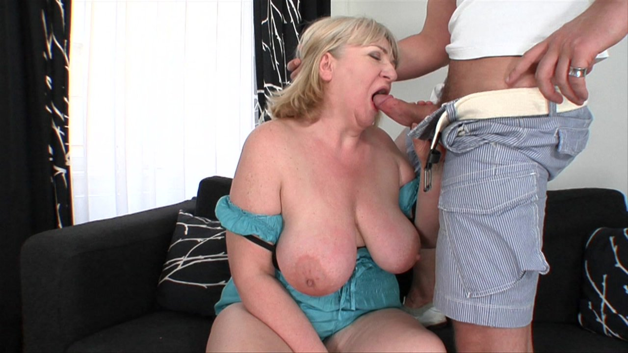 Blonde wearing cotton panties gives joi and squatting upskirt action